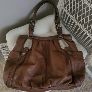 Makowsky Brown Hobo Bag